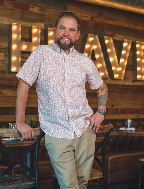 John Scharr, former Riverside Cafe bartender and friend of Jake Owen is now owner of Southern Social in Vero Beach