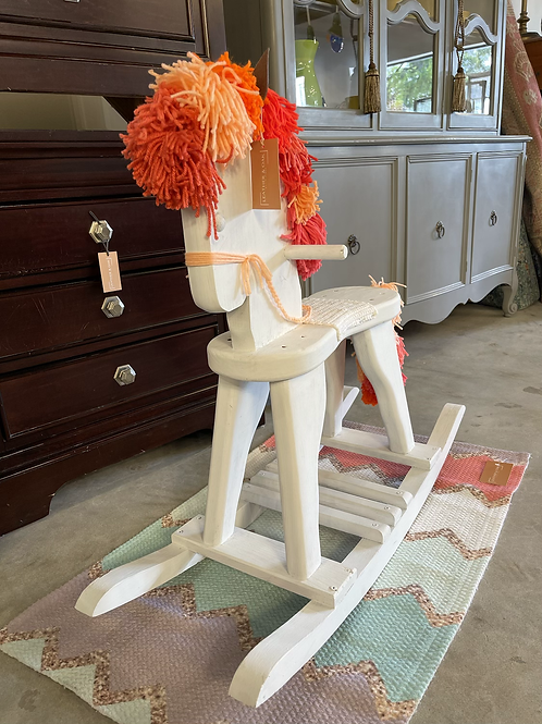 Creamsicle the Rocking Horse