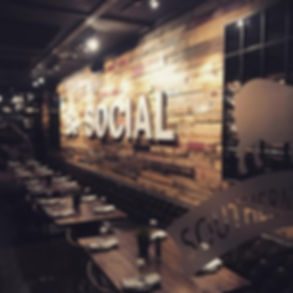 southern social in downtown vero beach around the corner from american icon brewery