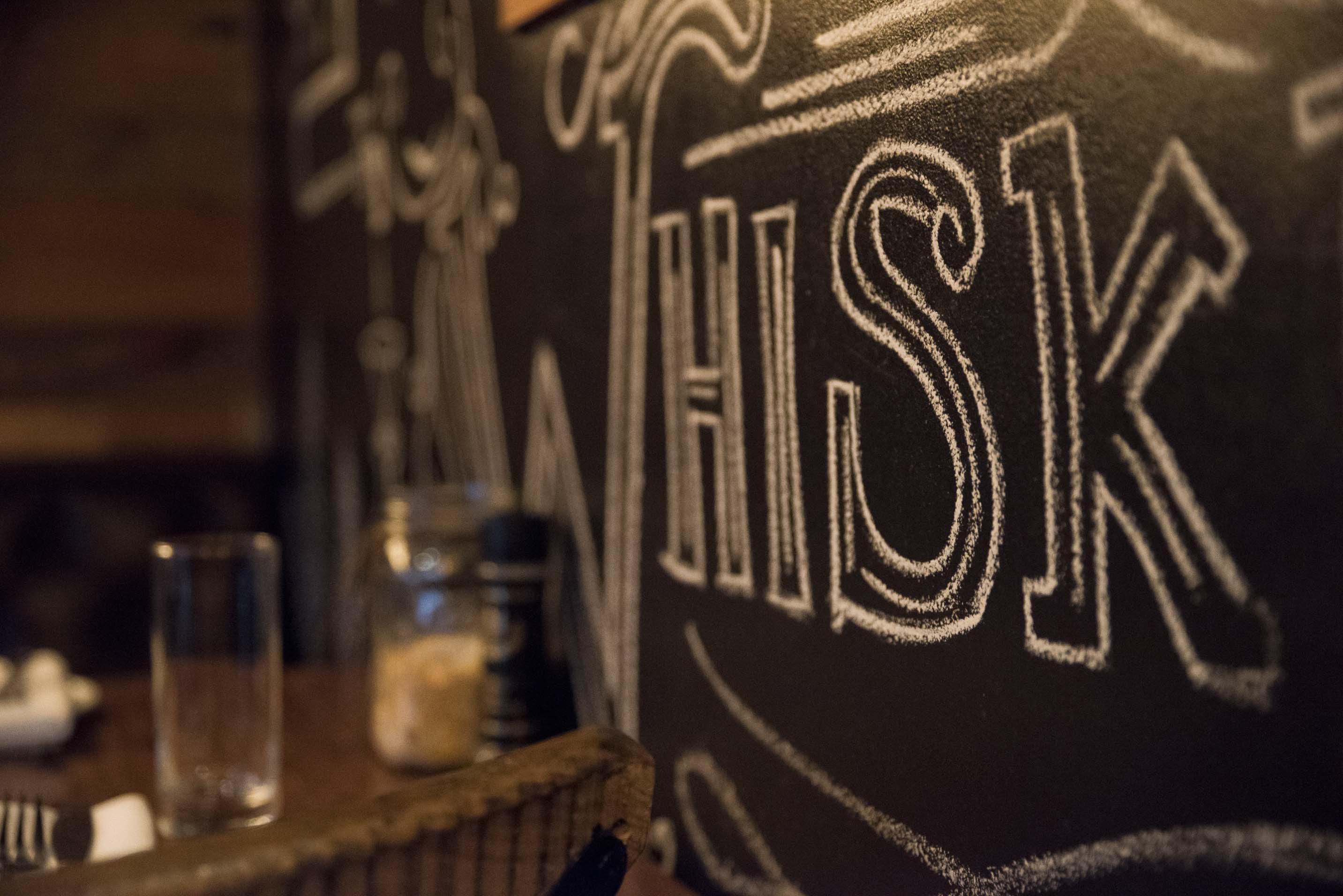 chalk art at southern social