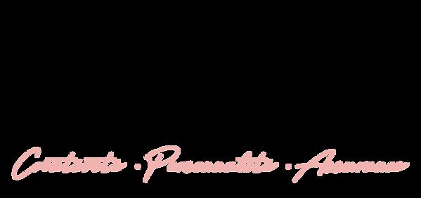 Logo complet Noemie Baron Noir Rose.png