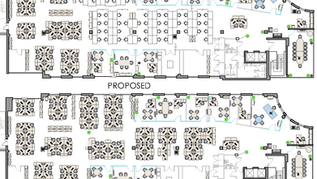 Existing and Proposed Layouts