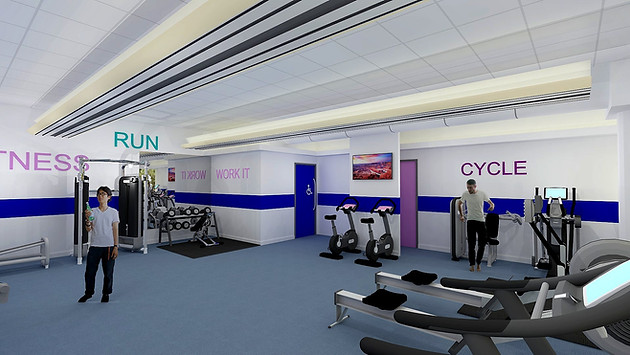 Office Gym Visual