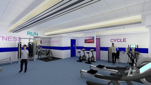 Office Gym Visual