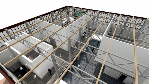Converted Warehouse 3d Visual