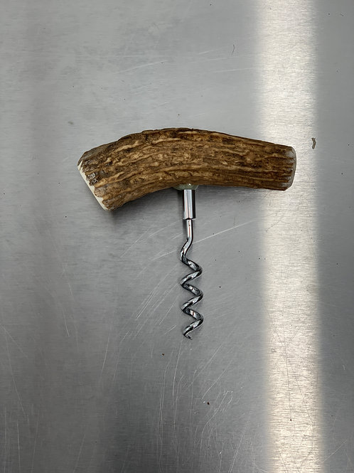 Wild Antler Handle Cork Screw