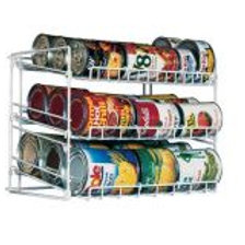 W Unlimited Iron Wire Storage Rack (Chrome)