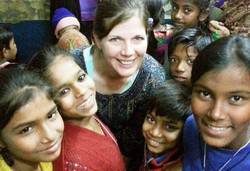 Rose and Indian Children