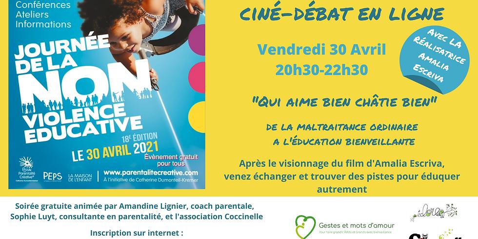 Ciné-débat en ligne : Journée de la non-violence éducative