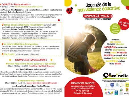 PROGRAMME DÉTAILLÉ DE LA JOURNEE DE LA NON-VIOLENCE EDUCATIVE