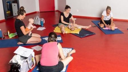 massage bébés : cycle de 3 ateliers