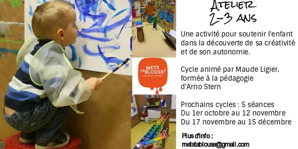 2ème cycle du jeu de peindre - Ateliers 2-3 ans (7)