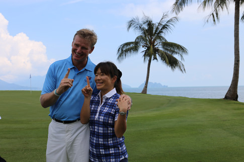 Ernie Els with Golf Today Japan