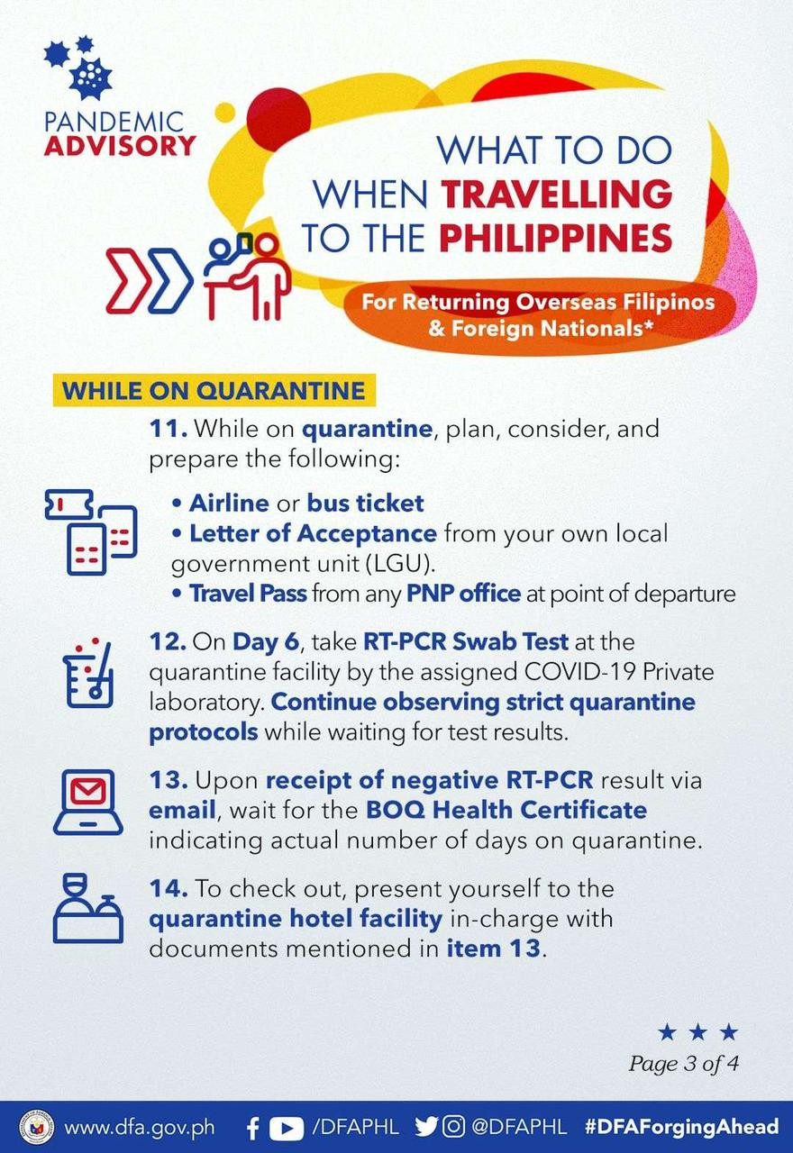 what to do when traveling to the Philippines