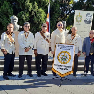 Rizal Day 2019 at the Ibero Plaza in Sydney