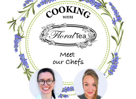 Cooking with FloralTea !