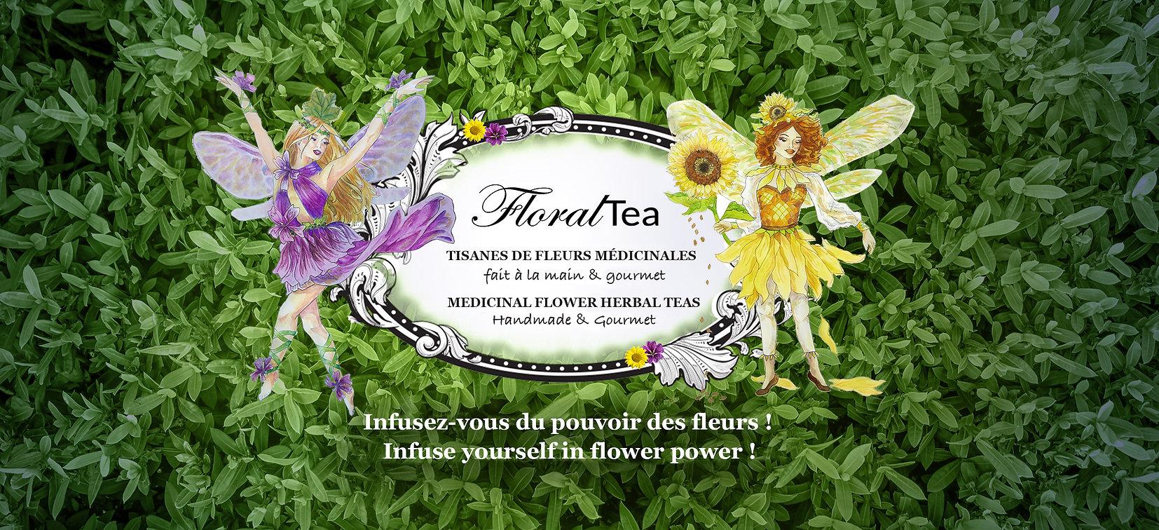 FloralTea Handmade Medicinal Flower Herbal Teas