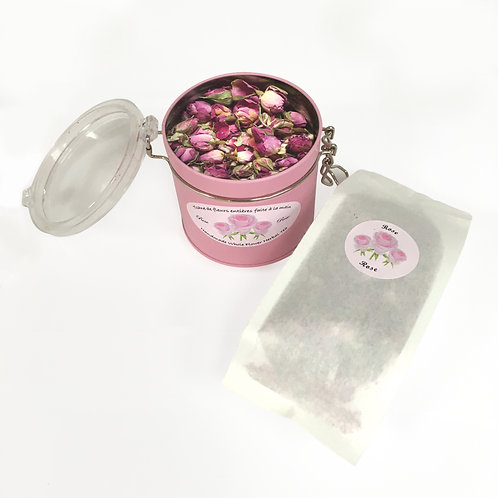 TISANE Rose  |  DUO boîte & sac - DUO tin & bag