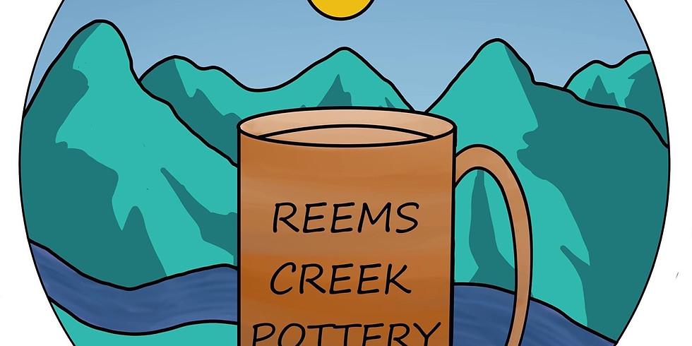 At Reems Creek Pottery