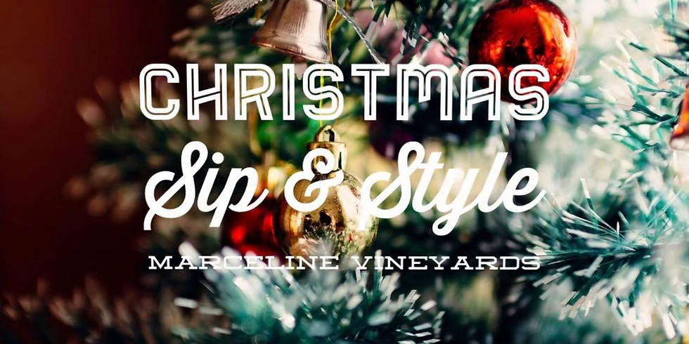 Christmas Sip & Style