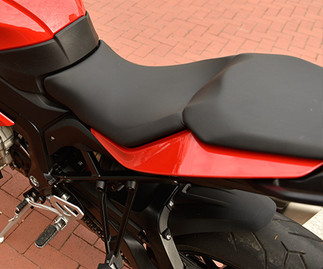 Asiento diseñado de manera ergonómica