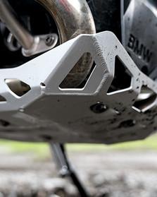 Protección del motor de aluminio