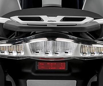 Luces traseras con tecnología LED