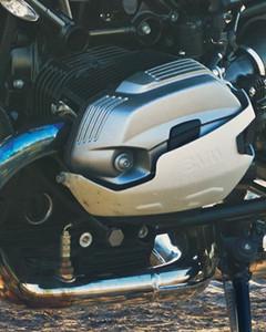 Motor bóxer de dos cilindros