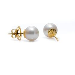 South Sea cultured pearls earrings