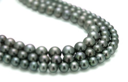 Tahiti cultured pearls strands