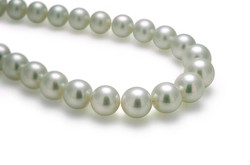 Round South sea pearl strands