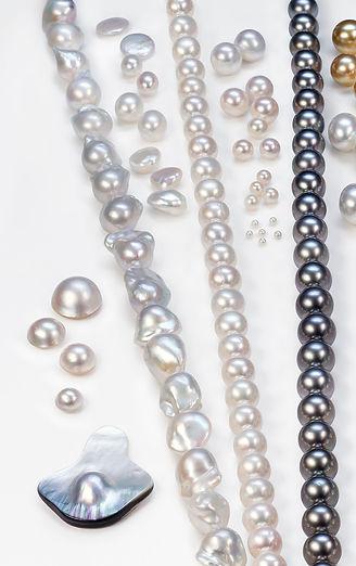 Tipos de perlas cultivadas que selecciona y suministra Sumiperla s.a.