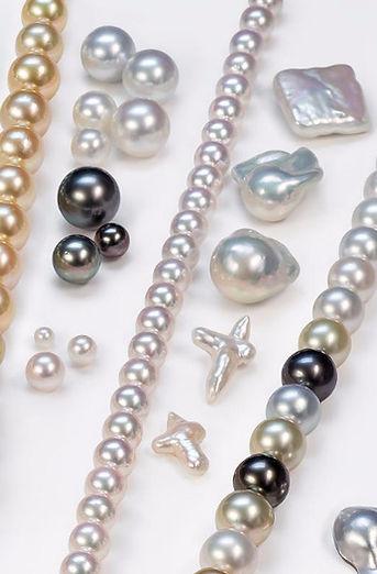 Factores de calidad delas perlas cultivadas : Lustre, superficie, forma, color y tamaño. Sumiperla s.a.