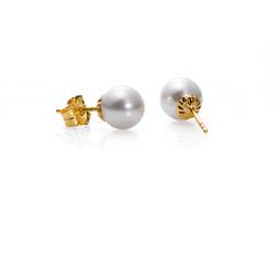 Akoya cultured pearls earrings