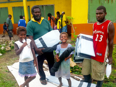 Online Raffle Helps to Provide Shelter in Cyclone-Hit Vanuatu