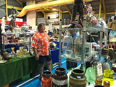 Put a date in your diary for this year's Antiques and Collectables Fair