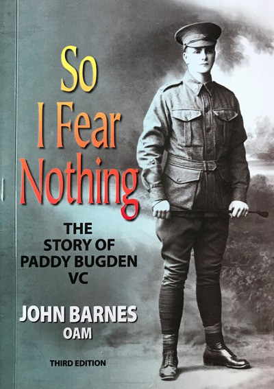 Image of book 'So I Fear Nothing' The Story of Paddy Bugden
