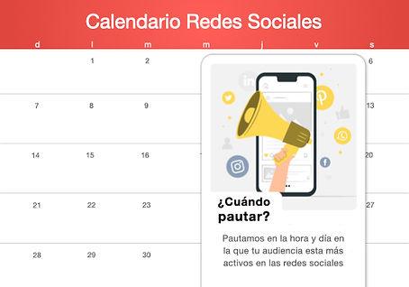 Calendario de publicaciones Emprende SEO