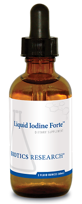 Liquid Iodine Forte (2oz)