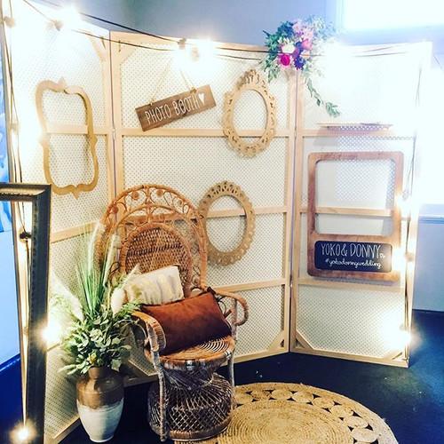 Styled photobooth