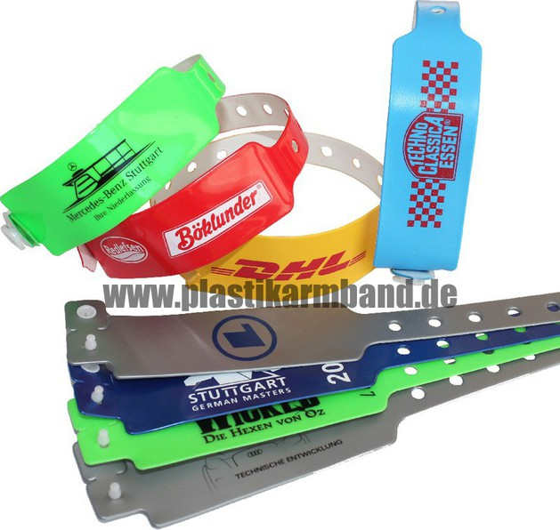 plastikarmband wristbands