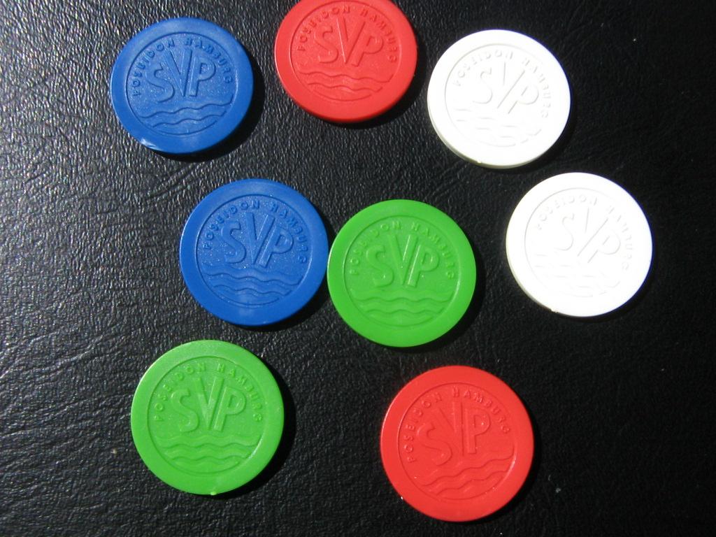 Plastikchips  Bezahlchips