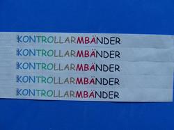 Papierarmbänder