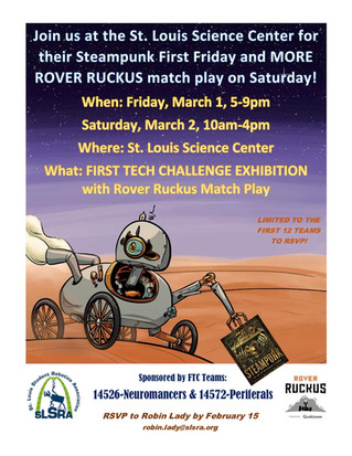 Rover Ruckus at the Science Center