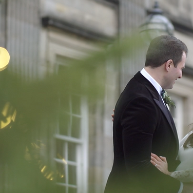 Sarah + Hugo - Hopetoun House