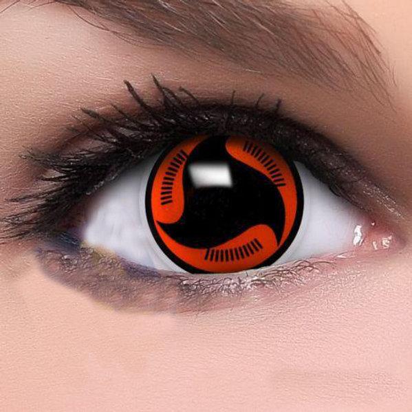 Naruto Uchiha Sasuke Sharingan Eye Contact Lens