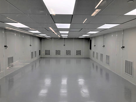 Tiger Optics Cleanroom