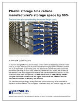 Bin Storage Article