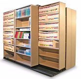 Lateral File Track Shelving