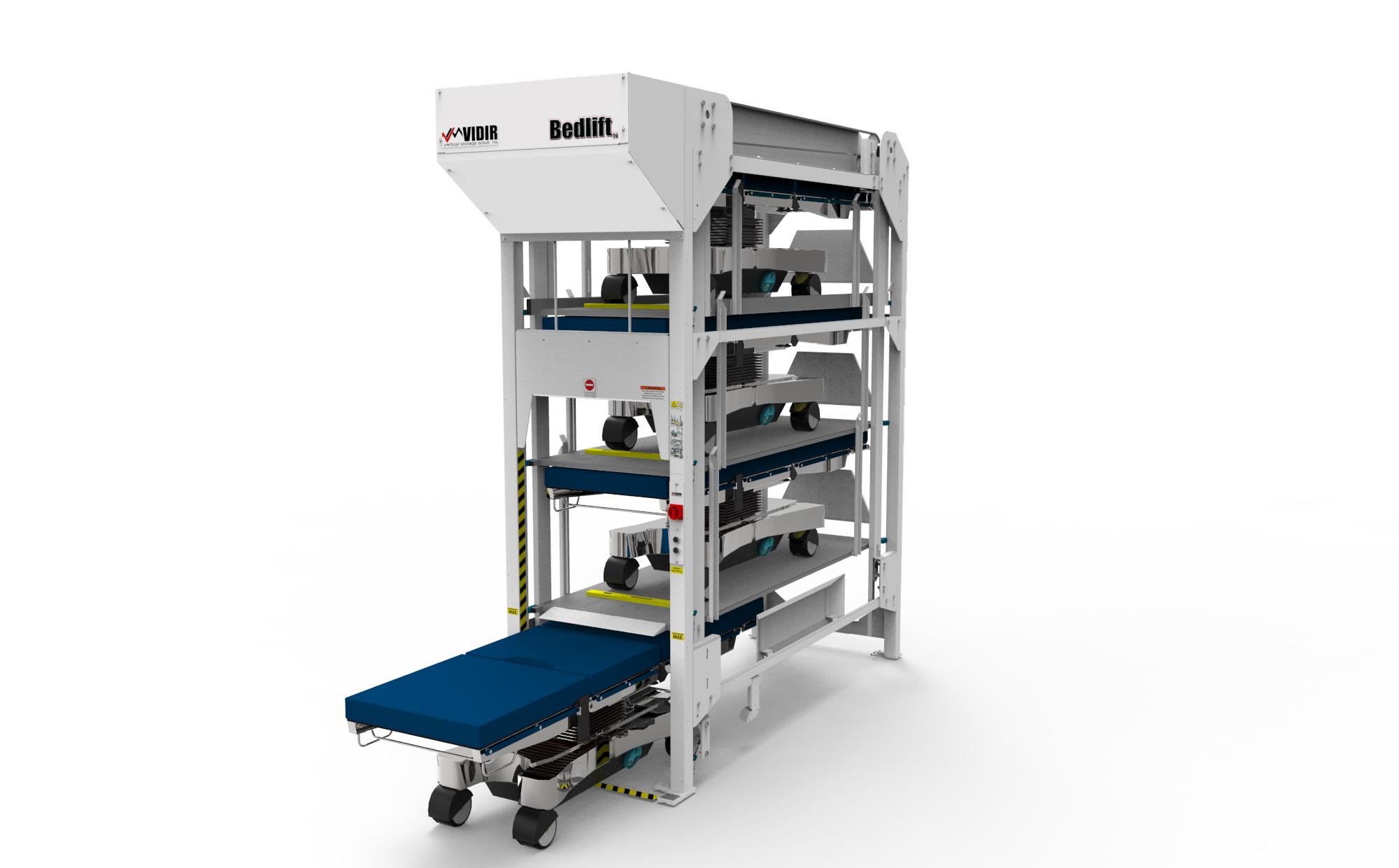Hospital Bed Storage